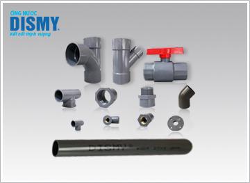 Ống PVC - Dòng sản phẩm tiêu biểu của thương hiệu nhựa Dismy