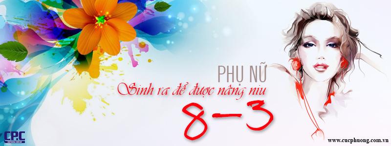 CP.C - CHÚC MỪNG KHÁCH HÀNG NỮ NHÂN NGÀY 8/3
